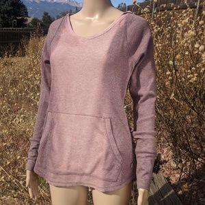 NWT Carhartt XS Long Sleeve Hood Top Front Pocket